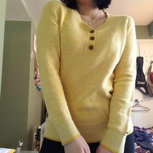 Price drop❣️Tommy Hilfiger pastel yellow sweater
